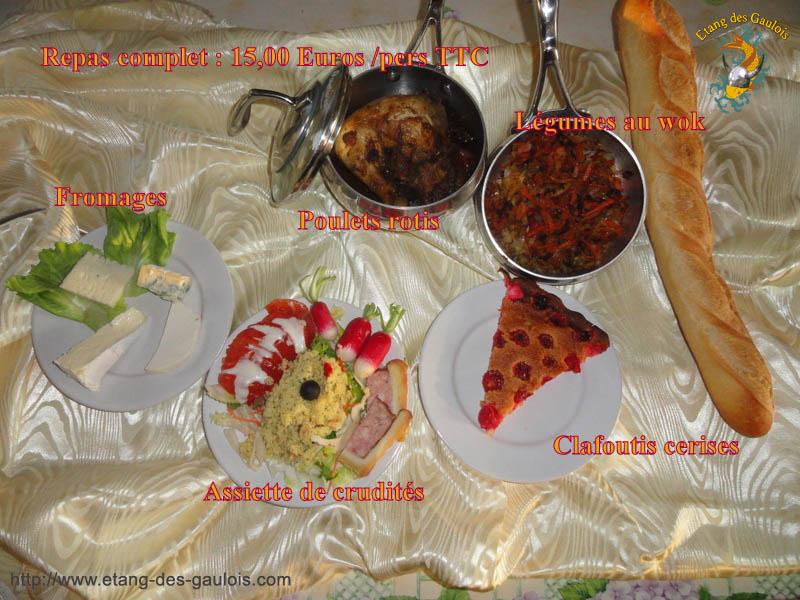 Poulet rotis +Légumes au work