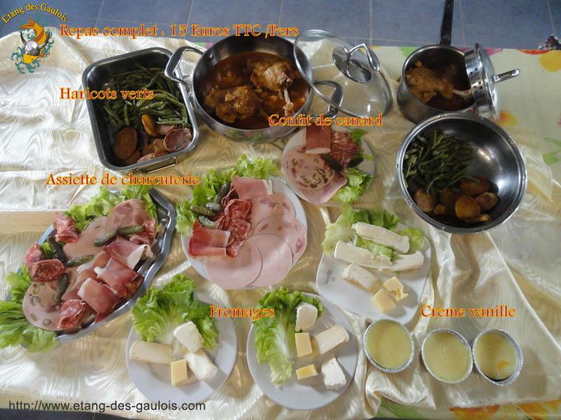 Repas Complet Cuisse de canard