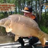 8 Carpe miroir 12.5kg Prise par Kjell Mai 2015