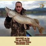 10 BROCHET  85 Cm Pris par FRANCK Team Morvan Fishing  DECEMBRE 2015