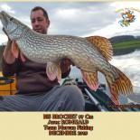 2 BIS BROCHET 97 Cm Avec ROMUALD Team Morvan Fishing  DECEMBRE 2015