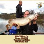 3 BROCHET  89 Cm Pris par FRANCK Team Morvan Fishing  DECEMBRE 2015