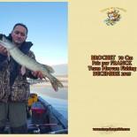 5 BROCHET  70 Cm  Pris par FRANCK Team Morvan Fishing  DECEMBRE 2015