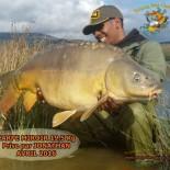 1 Carpe miroir 19,5 kg prise par Jonathan Avril 2016